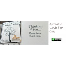 Sympathy Cards for Cats