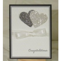 Wedding Card-Two Hearts